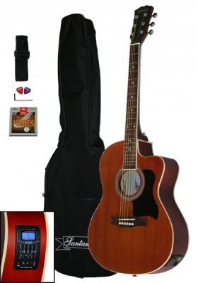 Chitara electro acustica Western Santander WS 55 4EQ acordor integrat NATUR