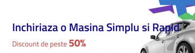 50% discount la închirieri mașini la Autonom