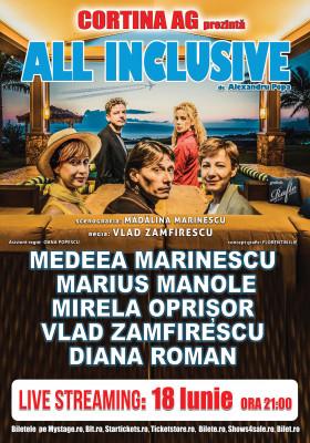 All Inclusive - Piesa de Teatru cu Marius Manole Online