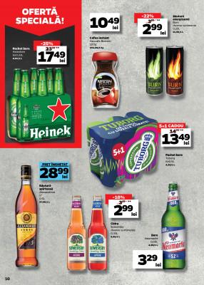 Pachet bere Heineken 6x0.33L la pret redus la Profi saptamana asta