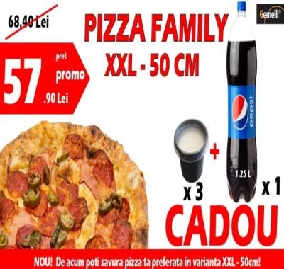 Pizza Family Combo de la Gemelli