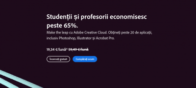 Oferta Adobe Pentru Studenti