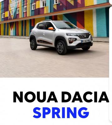 Noua Dacia Spring 100% Electrica de la 7700 Euro
