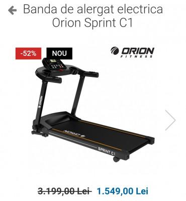 Bandă de alergat electrică  Orion Sprint C1