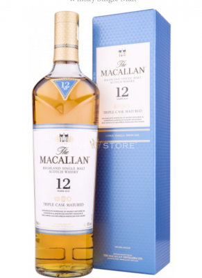 Macallan Whisky Triplu Sec 12 ani 70cl