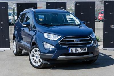 Ford EcoSport Automat Titanium Edition de inchiriat la doar 12 euro pe zi