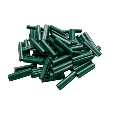 Set 100 cleme de fixare pentru sarma PVC