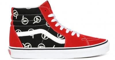 Vans, Pantofi sport inalti unisex cu insertii din piele intoarsa Circle