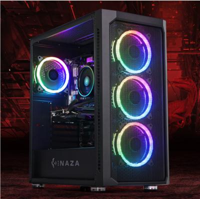 PC Gaming Raptor5 AMD, AMD Ryzen 5 3600 3.6GHz, 16GB DDR4, 1TB SSD, GTX 1660 SUPER 6GB GDDR6, Iluminare RGB
