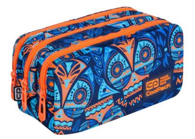 penar coolpack borseta primus, albastru cu portocaliu