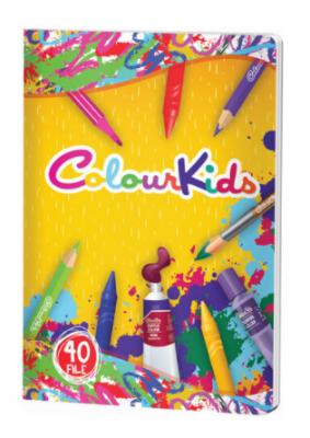 caiet personalizat colour kids a5, matematica, 40 de file