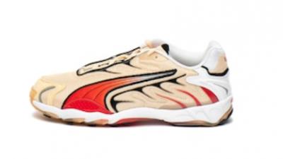Puma, pantofi sport de plasa inhale