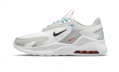 Nike, pantofi sport cu insertii din material textil air max bolt, alb/gri deschis