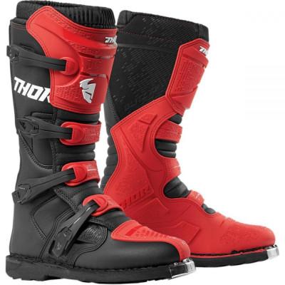 Thor cizme blitz xp red/black s9