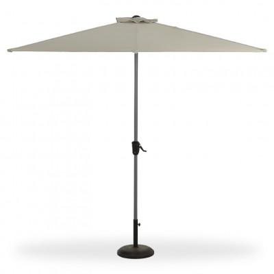 Umbrela de gradina blooma pali, 242 x 228 x 124 cm, taupe