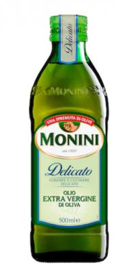 Ulei masline extra virgin monini delicato, 500ml
