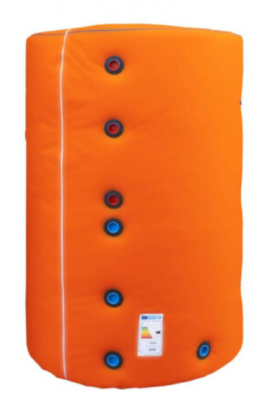 Rezervor de acumulare 1000 l, izolat, 90 x 175 cm, celsius