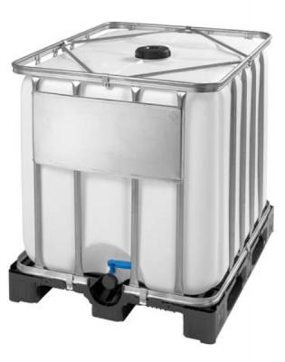 Container ibc 1000 l, standard, palet din plastic